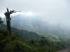太鼓岩到着!太鼓岩からの風景。ちょっと足ふるえました。^^