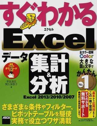 すぐわかるExcelデータ集計&分析 Excel 2013/2010/2007